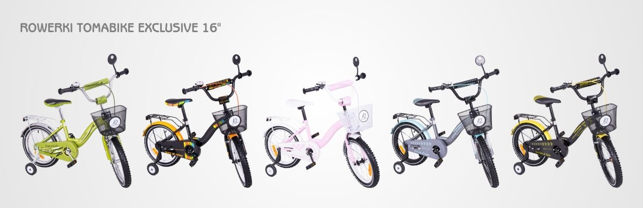 rowerek tomabike 16 cali